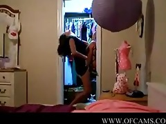 lovely gal in front of cam teens-at-