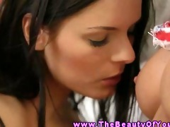 legal age teenager lesbo hottie muff satisfying