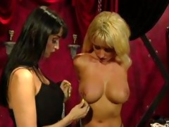 busty thraldom lesbos - scene 2