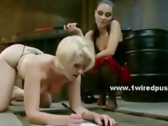 brutal female-dominant forces bitch to submit