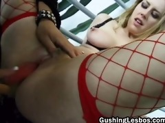 constricted lesbo muff acquires screwed part1