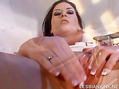 twat widening with lesbo hoe