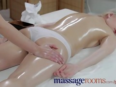 massage rooms virginal juvenile blond has