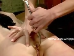 lesbo immodest dominant-bitch with big mangos