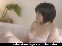 cute japanese lesbian babes have a fun threesome