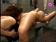 keisha and zoe lesbo after the gym.
