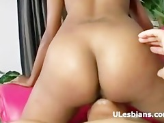afro black chick licks her excited hot small ebon