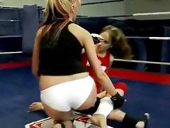 hot european gals in lesbo wrestling