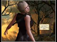 6d comic: the wandering princess. episodes 7-6