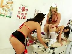 anal nurses unfathomable toying anuses