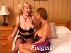 blond and oriental lesbos with massive breasts