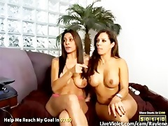 nice-looking lesbo goddesses receive wicked