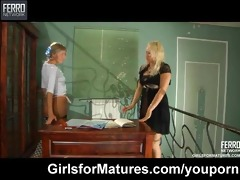lesbian maid seduces her mother i dominant-bitch