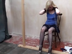 satine spark in public lesbo slavery and voyeur