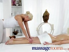 massage rooms juvenile lesbo allies share oily