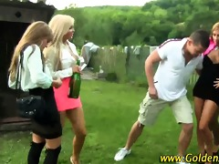 whores drenched in urinate outdoors