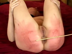 caning ff on the sofa