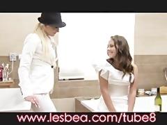 lesbea juvenile bride seduced to stray