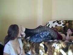 ribald lesbian hotties