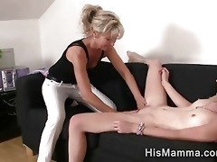 girlfriend gets tempted by aged lesbo who desires