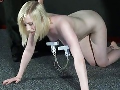 satines lesbo punishment and humiliating workout