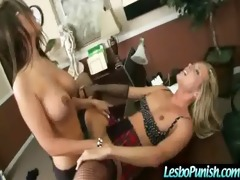 lesbos acquires chastise with dildos movie-10