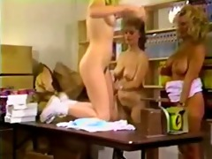 classic and sweet lesbo three-some with trinity