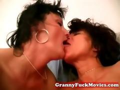 unshaved lesbo granny sex