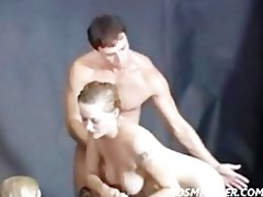 lesbo shower jilted and spanked by a huge