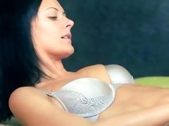 luxury chicks in nylons enjoying belt