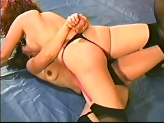 facesitting and smothering catfight at the club