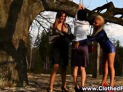 euro dressed lesbian babes thraldom