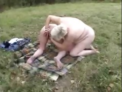 dilettante old lesbian babes having pleasure