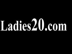 hirsute lesbian babes in nylon underware loving