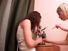 natasha shy and her lesbian gf gratifying snatches