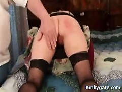learning her how to spank my sub wife