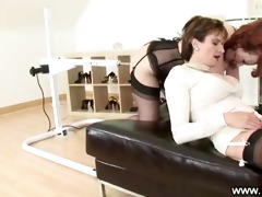 two older ladies receive boned by marital-device