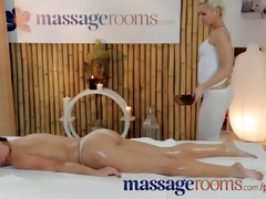 massage rooms hot juvenile lesbos have oily