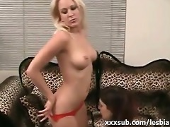 precious arse lesbo blond getting cunt parted by