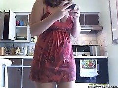 sexy legal age teenager showing off in cam -