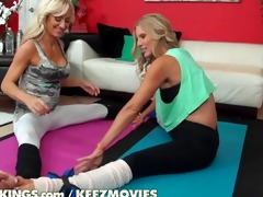reality kings - yoga panties and lesbo love