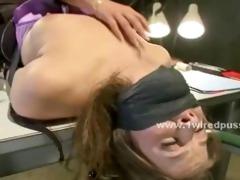 breasty lesbo student caught smokin